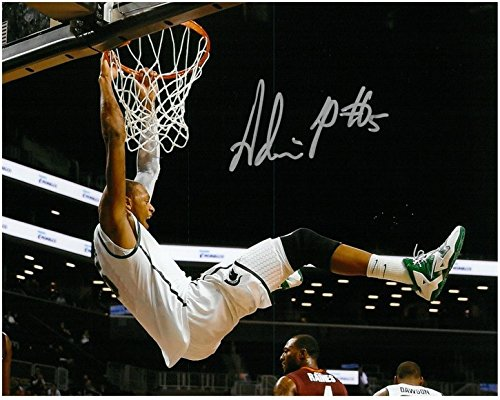 Adreian-Payne-Autographed-Michigan-State-Spartans-8x10-Photo-2-Big-Dunk