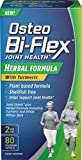 Osteo Bi-Flex Herbal Formula with Turmeric, 80 Count Pack of 2