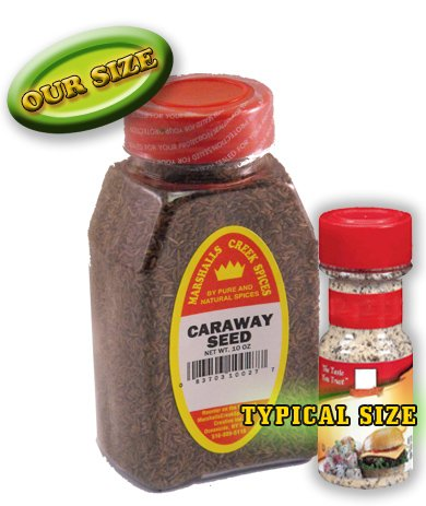 Marshalls Creek Spices Caraway Seed Whole Seasoning, New Size, 10 Ounce