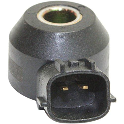 Evan-Fischer EVA3946231516 Knock Sensor for Infiniti QX4 00-03 / Nissan Altima 02-04 2 Male Terminals Direct Mounting Type Female Connector ()