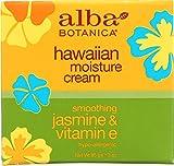 Alba Botanica Hawaiian Moisture Cream, Soothing Jasmine & Vitamin E 3 oz