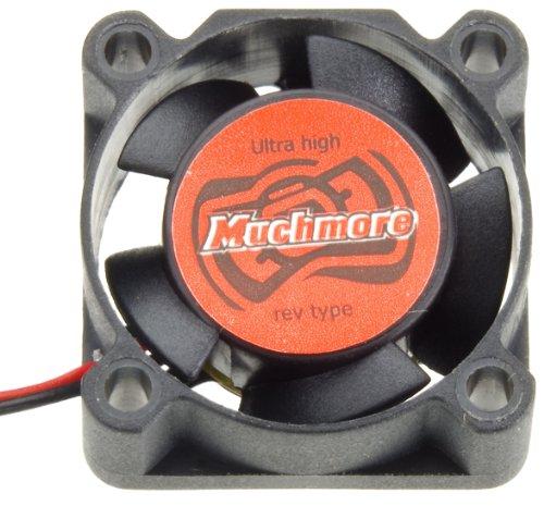 Muchmore Racing MRU25FAN MTR ESC Ultra Hi RPM Cooling Fan, 25 x 25mm