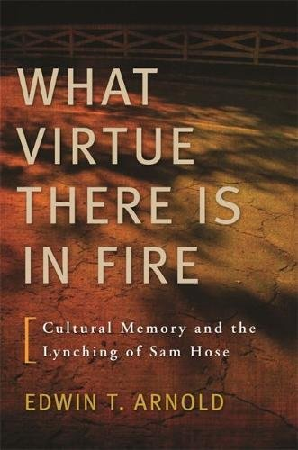 Download What Virtue There Is in Fire: Cultural Memory and the Lynching of Sam Hose pdf epub