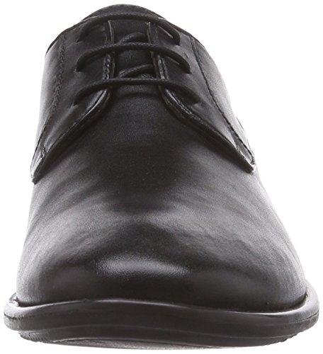 À Homme Lacets Frisco Shoes 100 Noir Derbies black Marc Schwarz wq7TBS