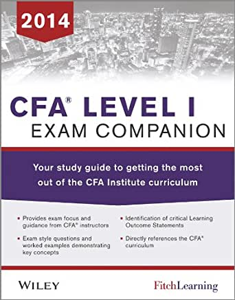 CFA Level 1 Study Guide (Recommended CFA Study Guide)