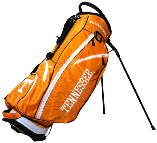 Tennessee Vols Light (Team Golf NCAA Tennessee Volunteers Fairway Golf Stand Bag, Lightweight, 14-way Top, Spring Action Stand, Insulated Cooler Pocket, Padded Strap, Umbrella Holder & Removable Rain Hood)