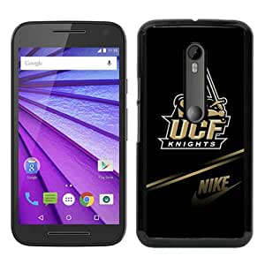 Fashionable design NCAA American Athletic Conference AAC Football UCF Knights 1 Black Moto G 3rd gen Case Cover