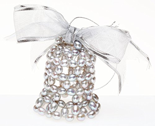 Honora Cultured Freshwater Pearl Bell Ornament