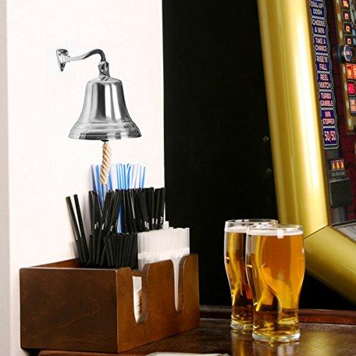 cromado la última Órdenes Bell Pequeño 8,9cm/90mm   Bar @ Drinkstuff Small cromado Bell–Pub los Buques Bell,...