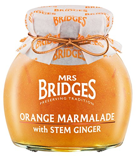 (Mrs. Bridges Orange Marmalade with Stem Ginger, 12-Ounce Jars (Pack of 4) )