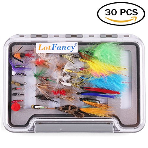 LotFancy Dry Flies Fishing Tackle