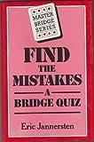 Find the Mistakes, Eric Jannersten, 0575031727