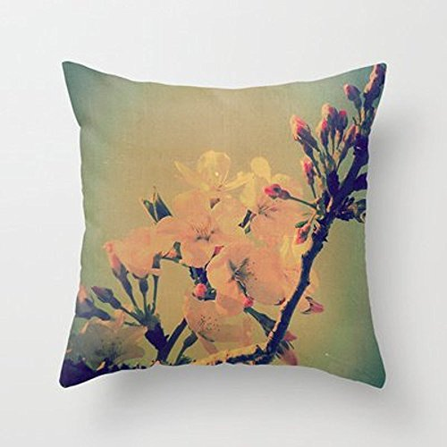 [My Honey Pillow Cherry Tree Flowers Blossoms And Buds Vintage Spri Hellip; Throw Pillow By V. Sanderson / Chickens In The Treesfor Your Home] (Sanderson Quilt)