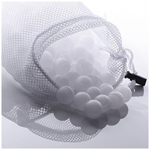 Sous Vide Water Balls 250 Count with Mesh Drying Bag