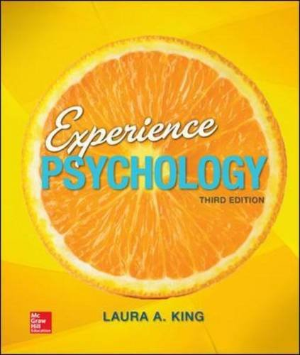 Loose Leaf Experience Psychology - Standalone Book