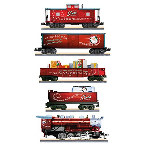 Train Set Santa - Hallmark Keepsake Santa Toymaker Express Lionel Electric Train Set