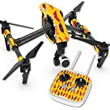 Skin For DJI Inspire 1 Quadcopter Drone – Feathers | MightySkins Protective, Durable, and Unique Vinyl Decal wrap cover | Easy To Apply, Remove, and Change Styles | Made in the USA