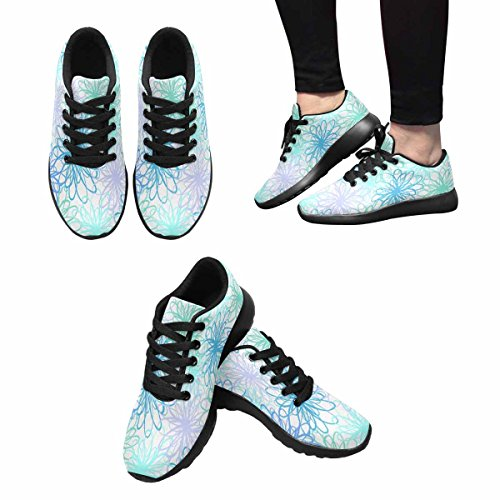 Easy 15 Women's Jogging Shoes InterestPrint Walking Go Multi Lightweight Sneaker Running fAqqxYv