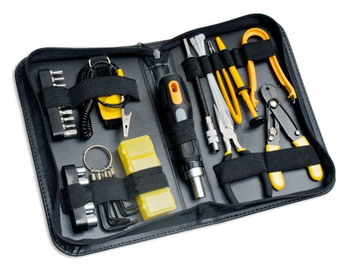 - Syba 43 Piece PC Basic Maintenance Tool Kit with Chip Extractor and Wire Stripper (SY-ACC65051)