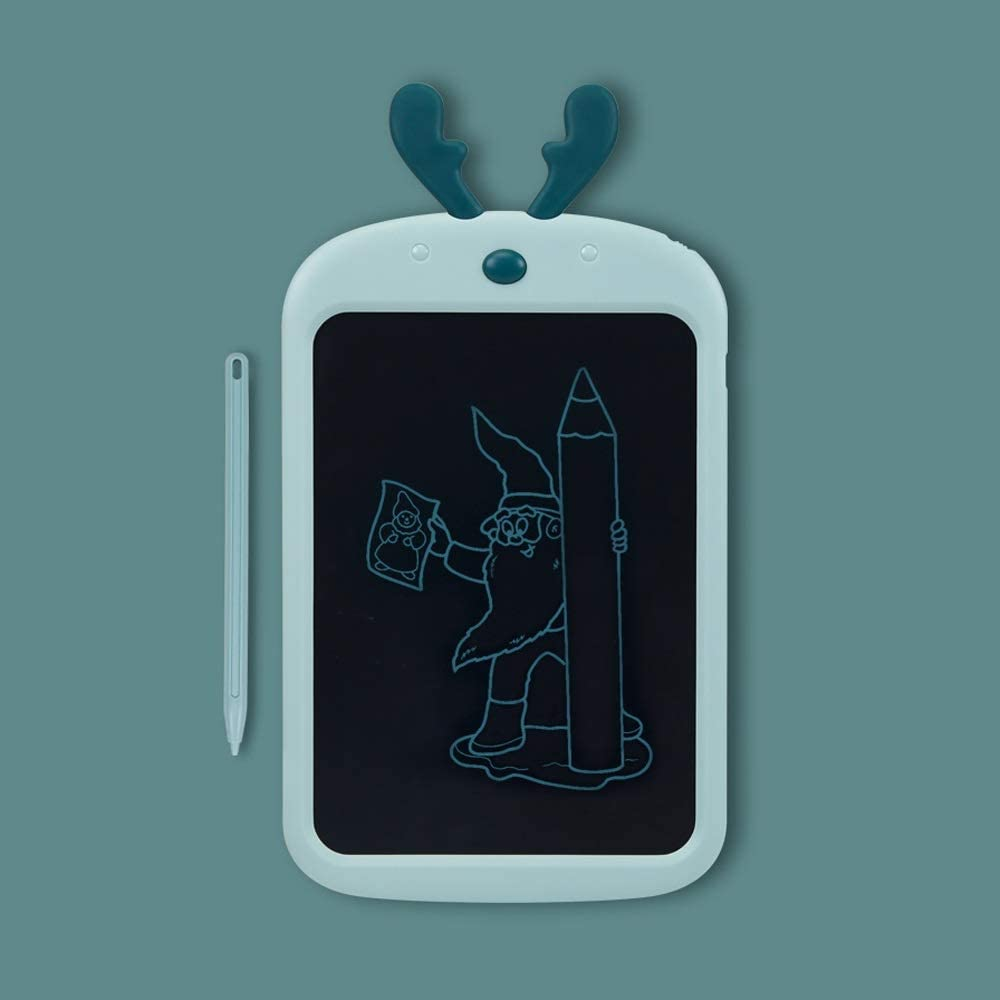 Color : Blue-A Dmxiezib 8.5 Inch Cartoon Drawing Board Childrens LCD Tablet Baby Dust-free Writing Board Painting Board Blackboard Graffiti Board Gift LCD Writing Tablet