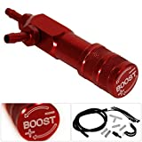 1-30 PSI Adjustable Red Manual Turbocharger Turbo Boost Controller Kit