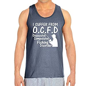 Sublime Wear O.C.F.D Men's Charcoal Tank (XX Large)