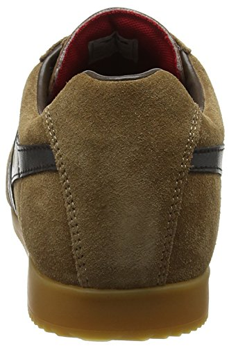 Gola para Marrón Hombre Zapatillas Black Brown Tobacco Harrier Suede rqgcRWUrS
