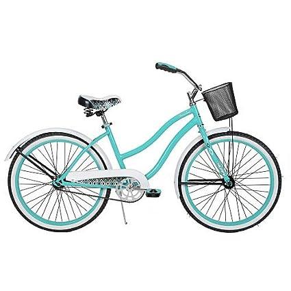 Amazoncom Girls 24 Inch Huffy Summerland Cruiser Bike Sports