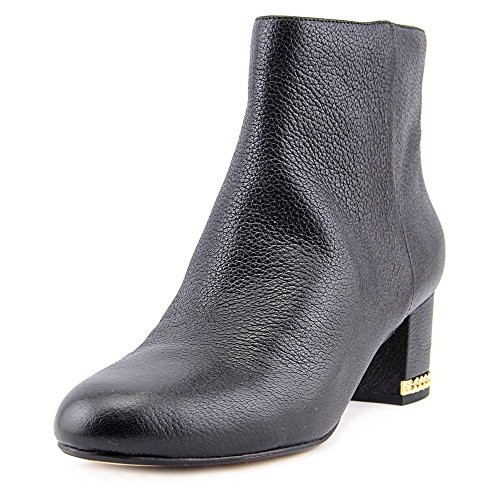 MICHAEL Michael Kors Frauen Sabrina Mid Bootie Geschlossener Zeh Leder Fashion Stiefel Black