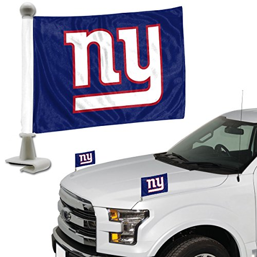 Promark NFL New York Giants Flag Set 2Piece Ambassador Stylenew York Giants Flag Set 2Piece Ambassador Style, Team Color, One Size