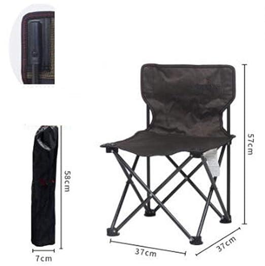 Silla plegable portátil pequeño taburete plegable silla ...