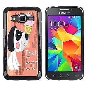 Dragon Case - FOR Samsung Galaxy Core Prime - time to learn - Caja protectora de pl??stico duro de la cubierta Dise?¡Ào Slim Fit