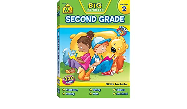 Amazon.com : School Zone Publishing SZP06318 Big Second Grade ...