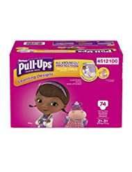 Pull-Ups Learning Designs Training Pants for Girls, 2T-3T, 74...