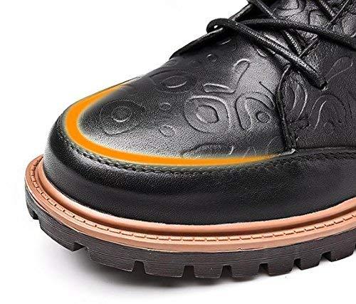 Stivali Stivali Stivali Casual Casual Casual Casual 38 Dimensione in Uomo Colore Nero Pizzo FuweiEncore da Caldo 47 UBwOBf