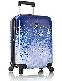 """Heys Ombre Blue Skies Fashion Spinner 21"""" Carry-on Spinner Luggage"""