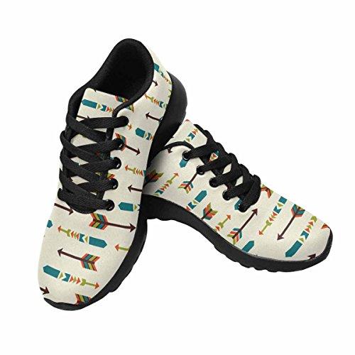 Modello Di Frecce Etniche Interestprint Womens Jogging Running Sneaker Leggero Go Easy Shoes Multi 1