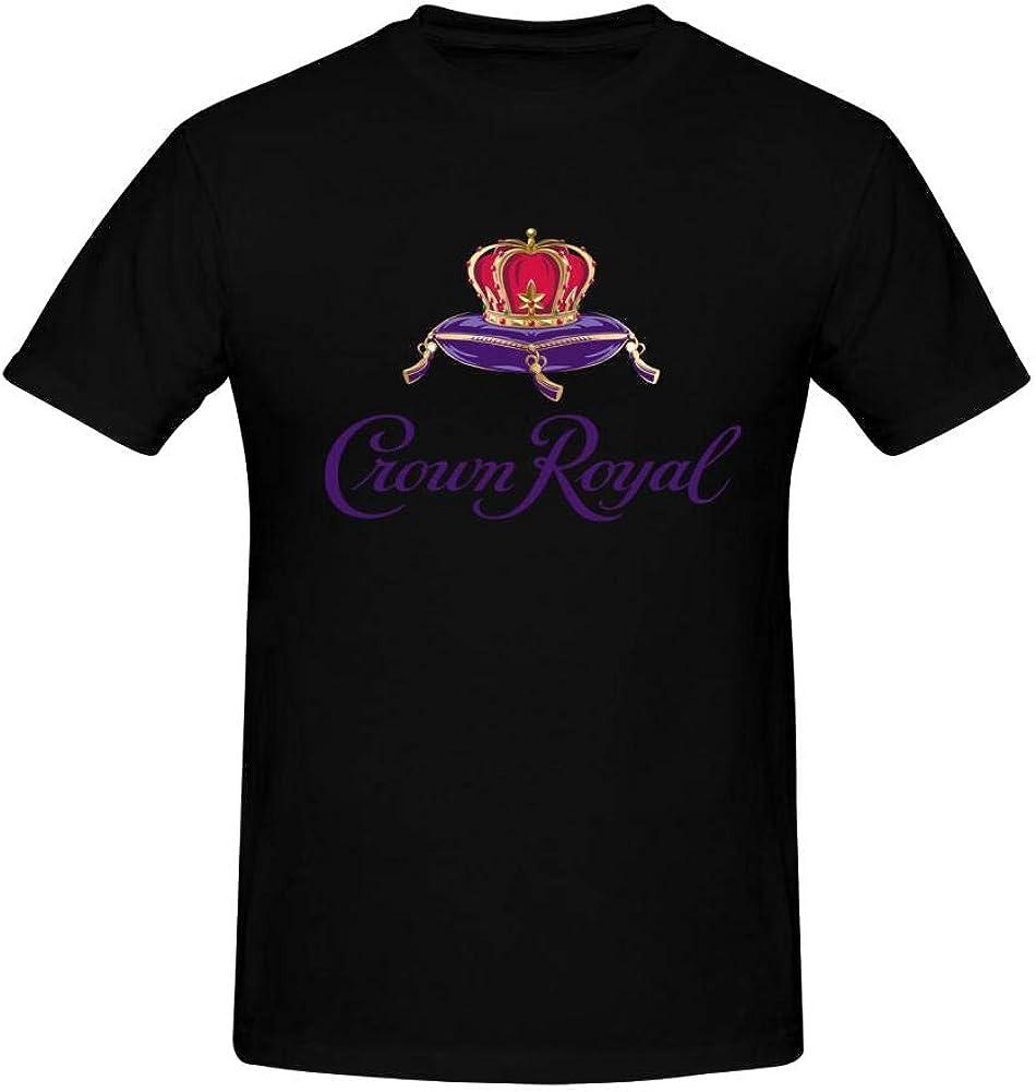 LOV-Tshirts Men's Crown Royal T Shirts Black