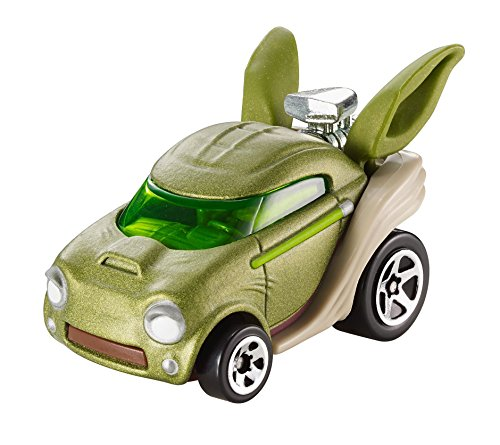 Hot Wheels Star Wars Character Car, Yoda -