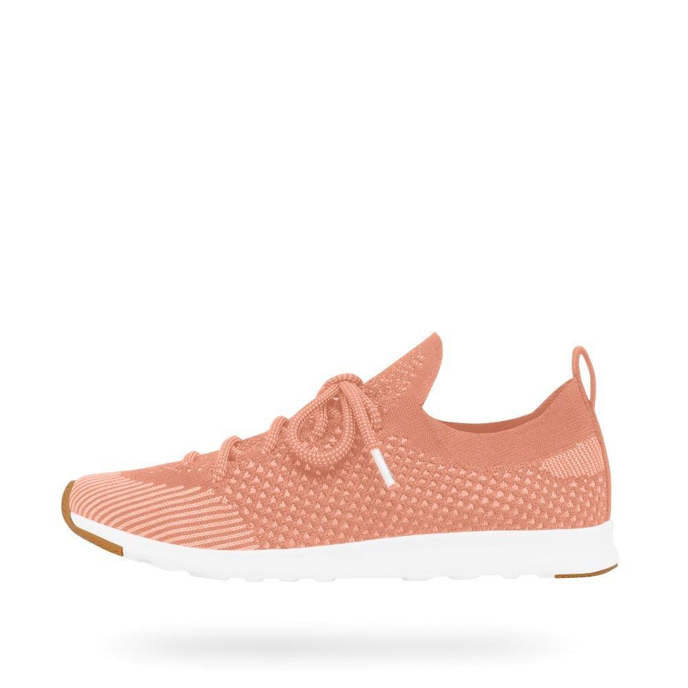 Native Herren Sneaker AP Pink/Shell Nova Liteknit Sneakers Clay Pink/Shell AP Weiß/Natural Rubber e63415