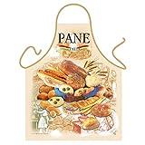 ''Pane'' (Italian Bread) - Kitchen Apron - 100% Polyester