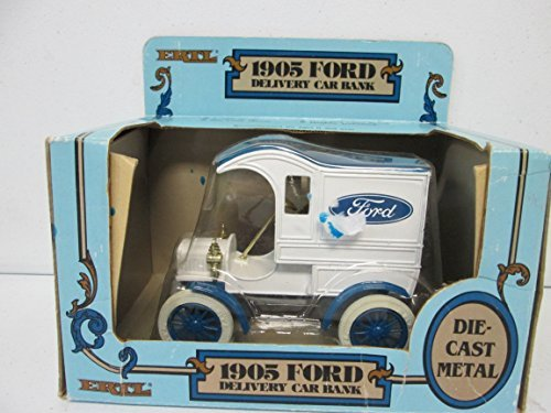 Delivery Car Bank (ERTL 1905 Ford Delivery Car Bank 1:25 Die-Cast Metal)