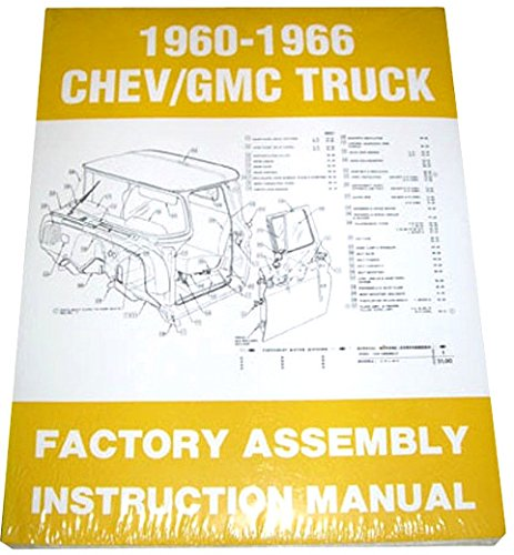1965 CHEVY & GMC TRUCKS & PICKUPS FACTORY ASSEMBLY INSTRUCTION MANUAL - INCLUDES C10, C20, C30 K10. K20, K30, Panel, Pickup, Suburban - CHEVROLET ()