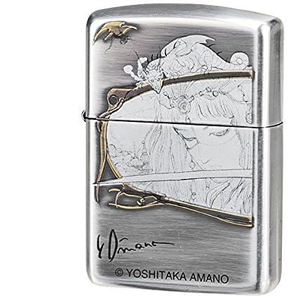 Amazon.com: Final Fantasy Zippo Yoshitaka Amano Collection ...