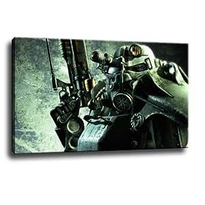 Fallout - cuadro sobre lienzo - 120 x 80 cm