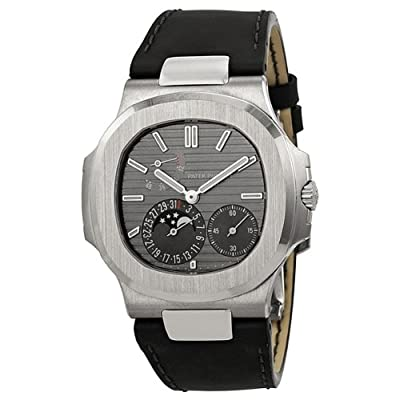 Patek Philippe Nautilus Men's 18K White Gold Watch - 5712G-001