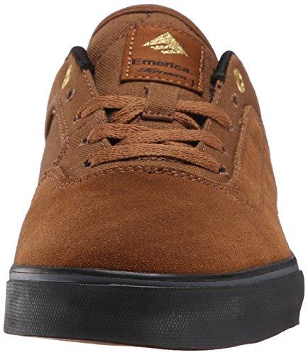 EmericaThe Herman G6 Vulc - Zapatillas de Skateboarding hombre marrón - Marron (Brown/Black/201)