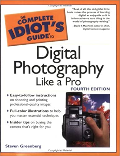 Book The Complete Idiot's Guide to Digital Photography Like A Pro, 4E