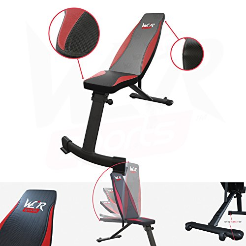 le banc de musculation pliable elliptiforme. Black Bedroom Furniture Sets. Home Design Ideas