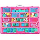 Life Made Better Shopkins Case, Toy Storage Carrying Box. Figures Playset Organizer. Accessories Kids LMB